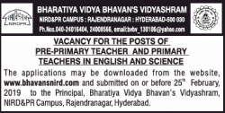 bharatiya-vidhya-bhavans-vidyashram-vacancy-for-pre-primary-teacher-and-primary-teacher-ad-times-of-india-hyderabad-14-02-2019.png