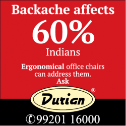 durian-backache-affects-ergonomical-office-chairs-ad-times-of-india-chennai-07-02-2019.png
