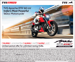 tvs-apache-rtr-160-4v-indias-most-powerful-160cc-motorcycle-ad-bangalore-times-15-02-2019.png