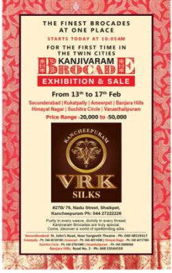 vrk-silks-kanjivaram-brocade-exhibition-and-sale-ad-deccan-chronicle-hyderabad-13-02-2019