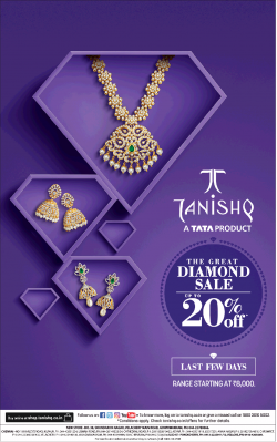 tanishq-a-tata-product-the-great-diamond-sale-upto-20%-off-ad-chennai-times-22-02-2019.png