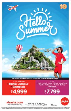 air-asia-hello-summer-kuala-lumpur-bangkok-rs-4999-ad-times-of-india-bangalore-19-03-2019.png