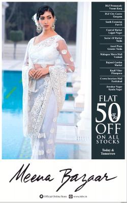 meena-bazaar-flat-50%-off-on-all-stocks-ad-delhi-times-09-03-2019.png