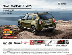 renault-cars-challenge-all-limits-renault-duster-the-true-suv-ad-bangalore-times-14-03-2019.png