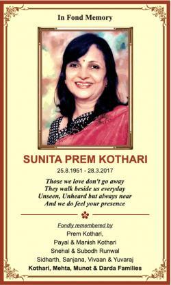 sunita-prem-kothari-in-fond-memory-ad-times-of-india-mumbai-28-03-2019.png