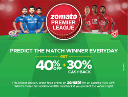 zomato-premiur-league-predict-the-match-winner-everyday-get-40%-off-ad-times-of-india-bangalore-10-04-2019.png