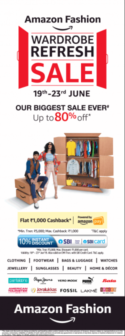 amazon-fashion-wardrobe-refresh-sale-upto-80%-off-ad-times-of-india-delhi-19-06-2019.png