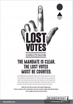 lost-votes-the-mandate-is-clear-the-lost-votes-must-be-counted-ad-times-of-india-mumbai-04-06-2019.png
