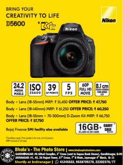 nikon-creativity-to-life-d5600-camera-ad-times-of-india-bangalore-25-06-2019.png