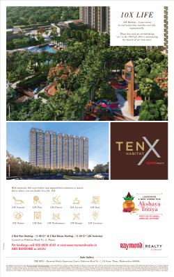 raymond-realty-akshaya-tritiya-offers-ten-x-habitat-ad-times-of-india-mumbai-07-05-2019.png