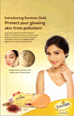 santoor-gold-soap-protecting-your-glowing-skin-from-pollution-ad-times-of-india-bangalore-12-05-2019.png