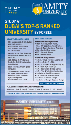 amity-university-dubai-khda-rating-ad-times-of-india-delhi-30-07-2019.png