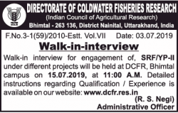 directorate-of-coldwater-fishers-research-walk-in-interview-ad-times-of-india-delhi-05-07-2019.png