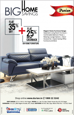 durian-furniture-big-home-savings-flat-35%-plus-25%-paytm-cashback-ad-times-of-india-delhi-06-07-2019.png