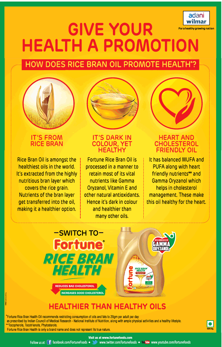 fortune-rice-bran-oil-healthier-than-healthy-oils-ad-delhi-times-29-06-2019.png