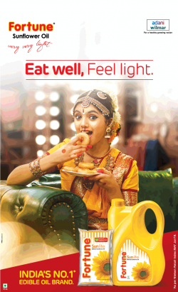 fortune-sunflower-oil-eat-well-feel-light-ad-times-of-india-chennai-29-06-2019.png