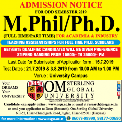 om-sterling-m-phil-phd-teaching-ssistantships-ad-delhi-times-10-07-2019.png