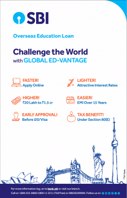 sbi-overseas-education-loan- challenge-the-world-ad-times-of-india-delhi-29-06-2019.png