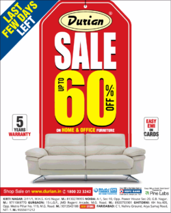 durian-furniture-sale-upto-60%-sale-last-few-days-left-ad-delhi-times-10-08-2019.png