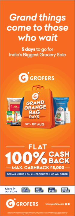 grofers-flat-100%-cashback-grand-orange-big-days-ad-delhi-times-06-08-2019.png