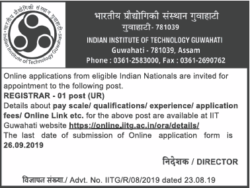 indian-institute-of-technology-guwahati-requires-registrar-ad-times-ascent-delhi-28-08-2019.png
