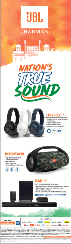jbl-speakers-headphones-nations-true-sound-ad-delhi-times-10-08-2019.png
