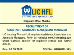 lic-hfl-recruitment-of-assistant-associate-ad-times-ascent-delhi-07-08-2019.png