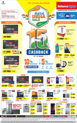reliance-digital-india-sale-15%-cashback-ad-delhi-times-10-08-2019.png