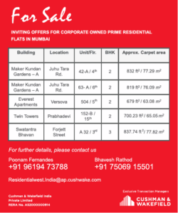 cushman-and-wakefield-for-sale-maker-kunda-building-ad-delhi-times-04-09-2019.png