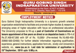 guru-gobind-singh-indraprastha-university-employment-notice-ad-times-of-india-delhi-05-09-2019.png