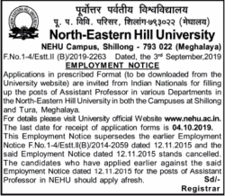 north-eastern-hill-university-employment-notice-ad-times-of-india-delhi-06-09-2019.png