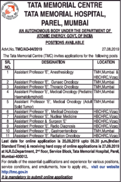 tata-memorial-centre-requires-assistant-professor-ad-times-ascent-delhi-04-09-2019.png