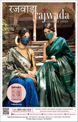 fabindia-rajwada-ladies-sarees-collection-ad-toi-bangalore-23-10-2020