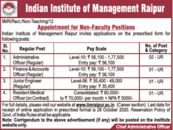 indian-institute-of-management-raipur-appointment-for-non-faculty-positions-ad-toi-delhi-7-10-2020.png