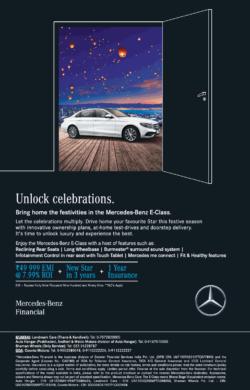 mercedes-benz-e-class-unlock-celebrations-ad-toi-delhi-8-10-2020