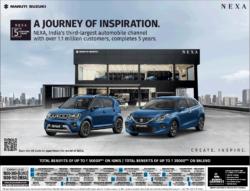 nexa-ignis-baleno-car-ad-delhi-times-10-10-2020