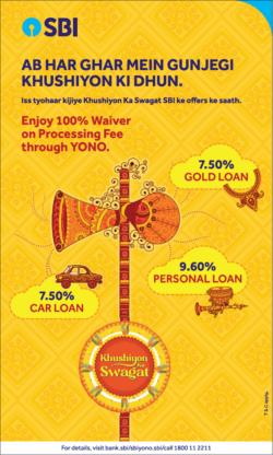 sbi-loans-enjoy-100-%-waiver-on-processing-fee-through-yono-ad-toi-delhi-14-10-2020