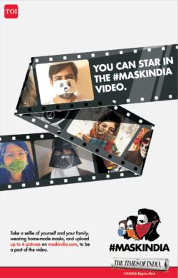 times-of-india-mask-india-video-ad-toi-mumbai-4-10-2020