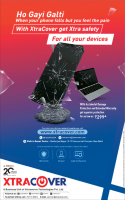 xtracover-with-accidental-damage-protection-and-extended-warranty-get-superior-protection-ad-toi-delhi-17-10-2020