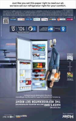 haier-bmr-just-like-you-set-this-paper-right-to-read-our-ad-we-have-set-our-refrigerator-right-for-your-comfort-ad-toi-delhi-6-11-2020