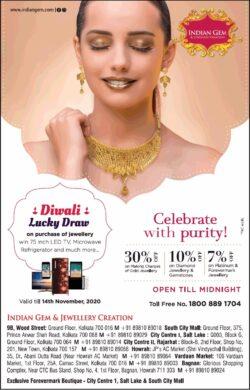 indian-gem-&-jewellery-creation-diwali-lucky-draw-on-purchase-of-jewellery-ad-toi-kolkata-12-11-2020