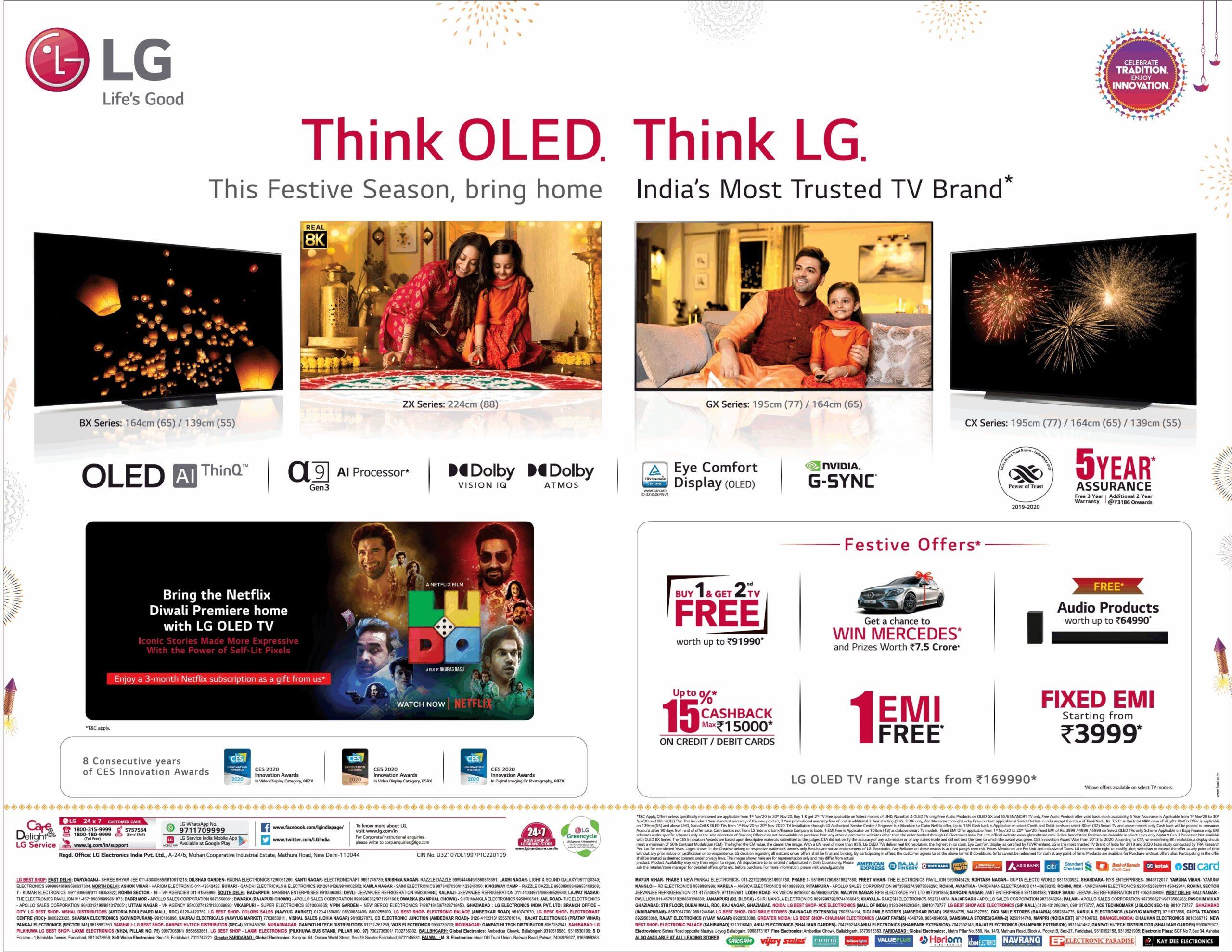 lg-think-oled-think-lg-this-festive-season-bring-home-indias-most-trusted-tv-brand-ad-toi-delhi-13-11-2020