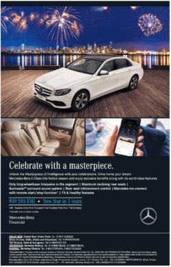 mercedes-bens-e-class-celebrate-with-a-masterpiece-rs-49555-emi-new-star-in-3-years-ad-toi-delhi-10-11-2020