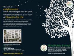niraj-public-school-top-icse-school-by-educational-world-magazine-2019-happy-childrens-day-ad-toi-hyderabad-13-11-2020