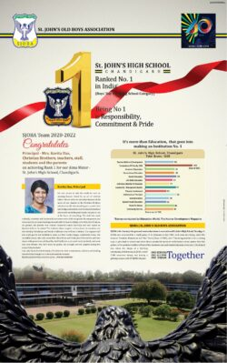 st-johns-high-school-chandigarh-ranked-no-1-in-india-boys-day-boarding-school-category-ad-toi-chandigarh-1-11-2020