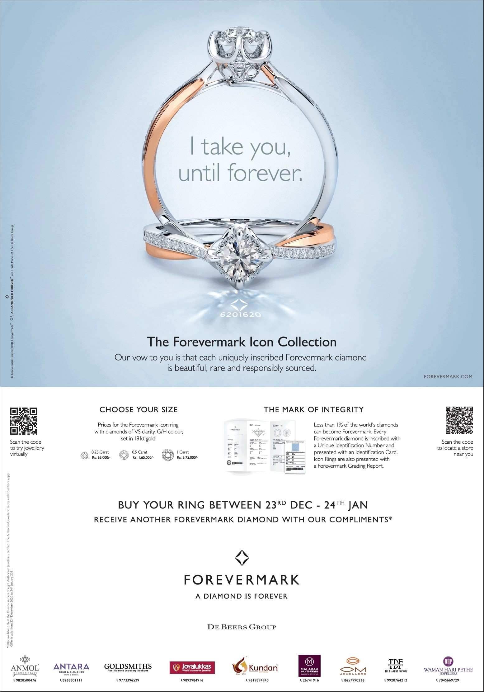 Forevermark-The-Forevermark-Icon-Collection-Ad-Times-Of-India-Mumbai-30-12-2020