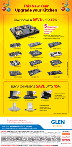 glen-live-better-this-new-year-upgrade-your-kitchen-exhange-and-save-upto-35%-ad-chennai-times-31-12-2020