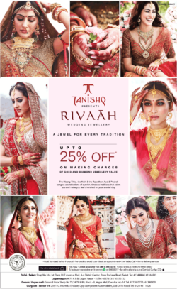 tanishq-rivaah-wedding-jewellery-upto-25%-off-on-making-charges-of-gold-and-diamond-jewellery-value-ad-toi-delhi-27-12-2020