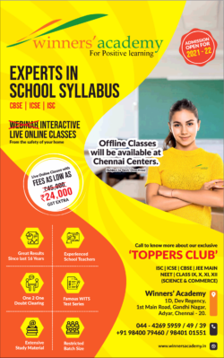 winners-academy-for-positive-learning-experts-in-school-syllabus-ad-times-of-india-chennai-31-12-2020