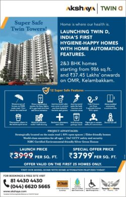 akshaya-super-safe-twin-towers-home-is-where-our-health-is-ad-times-of-india-chennai-02-01-2021